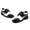 Fred Black and White Adult Shoes
